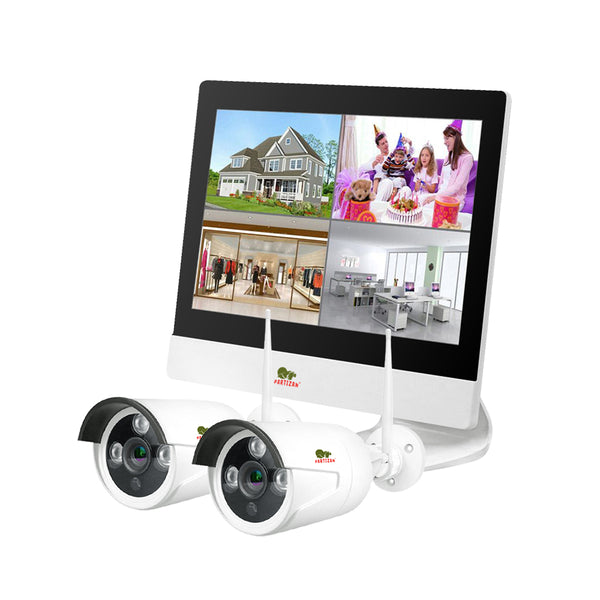 2.0MP Outdoor LCD Wi-Fi set IP-24<br>2xCAM + 1xNVR
