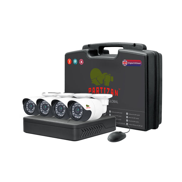 2.0MP Outdoor set<br>AHD-16 4xCAM + 1xDVR