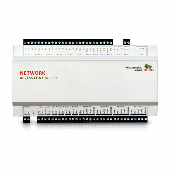 Network controller<br>PAC-42.NET<br>(4 doors, 8 readers)