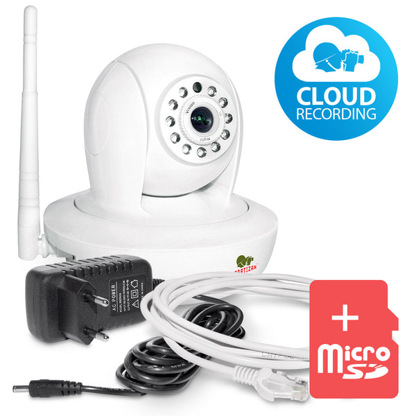 1.0 MP Indoor set IP-12<br>Robot camera + SD card
