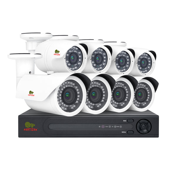2.0MP Outdoor set PRO IP-17<br>8xCAM + 1xNVR