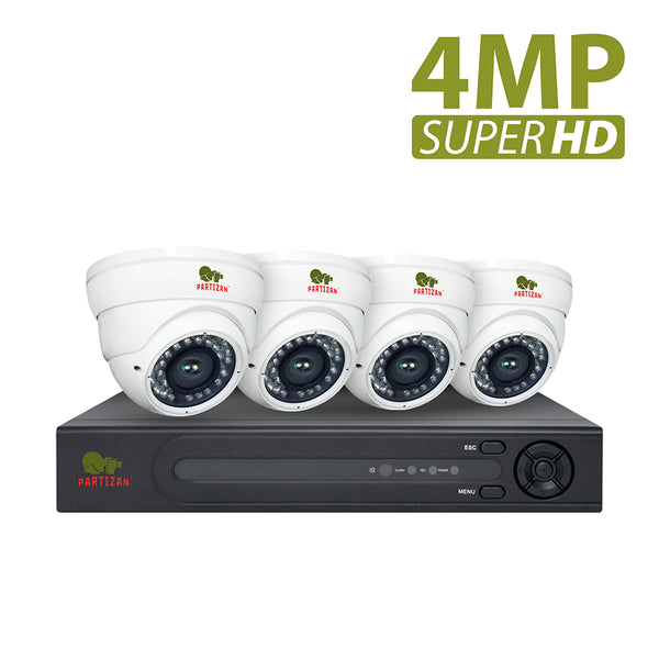 4.0MP Indoor set PRO AHD-73<br>4xCAM + 8-ch DVR