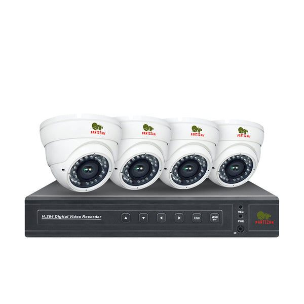 2.0MP Indoor set PRO AHD-25<br>4xCAM + 1xDVR