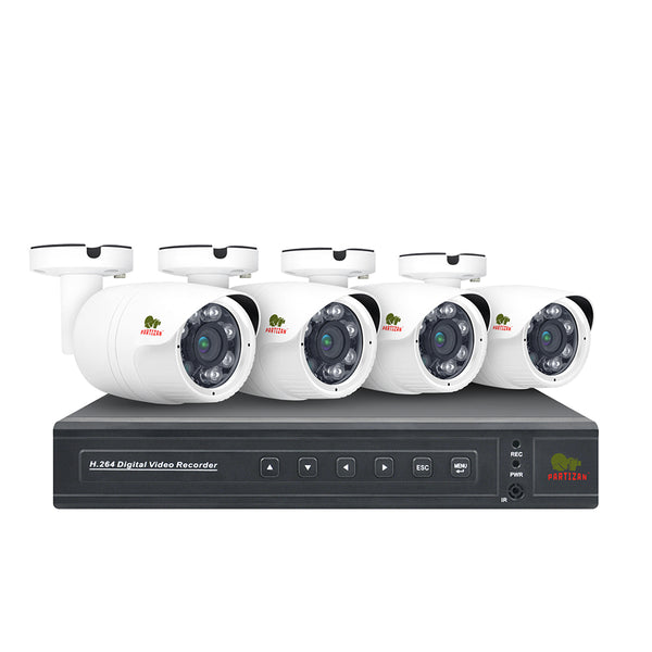 2.0MP Outdoor set AHD-32<br>4xCAM + 1xDVR