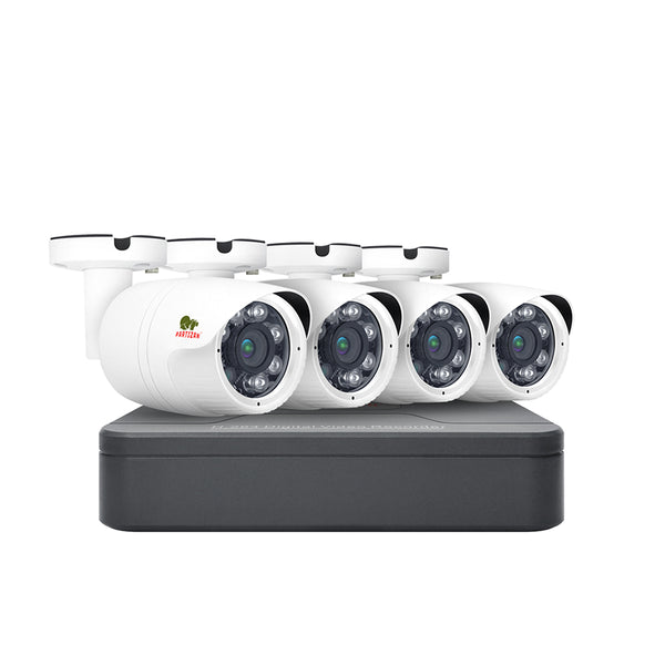2.0MP Light (1080N) Outdoor set<br>AHD-37 4xCAM + 1xDVR