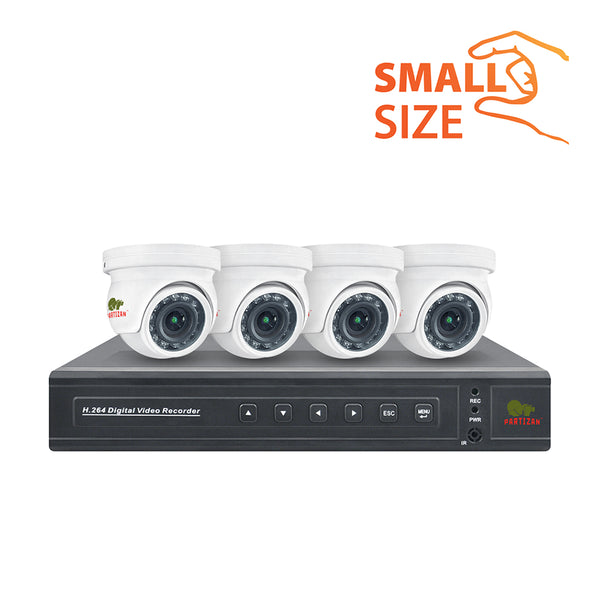 2.0MP Indoor set AHD-9<br>4xCAM + 1xDVR