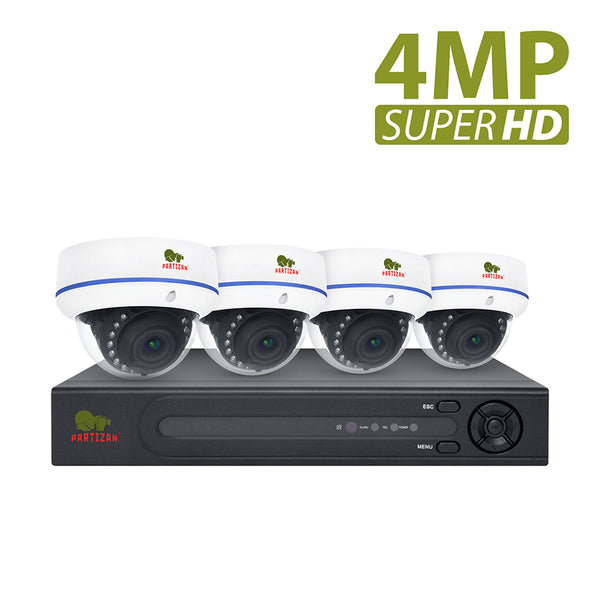 4.0MP Outdoor set IP-10<br>4xCAM + 1xNVR