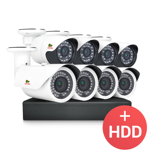 1.0MP Outdoor set PRO AHD-20<br/>8xCAM + 1xDVR + HDD
