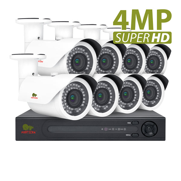 4.0MP Outdoor set PRO AHD-119<br>8xCAM + 1xDVR