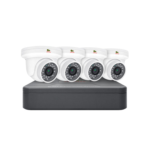 1.0MP Indoor set IP-2<br>4xCAM + 1xNVR