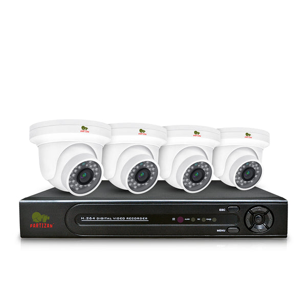 Indoor set IP-1<br>4x1.3MP CAM + 1xNVR