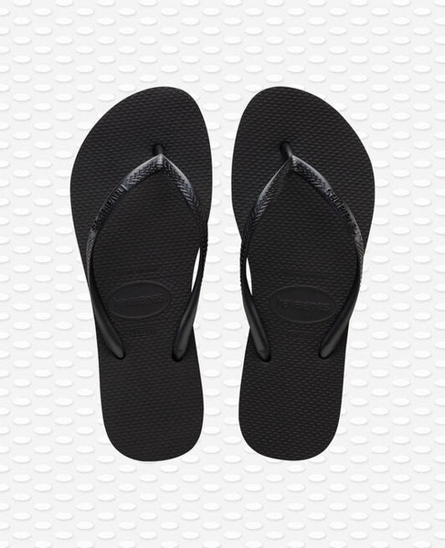 Havaiamas Slim Plattform i BLACK