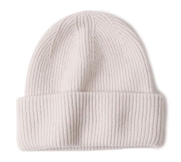 100 % WOOL BEANIE PUTTY