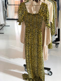 Olivia Maxi dress i LEMON LEOPARD fra Notes du Nord