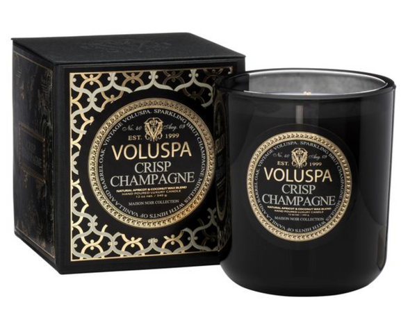 Boxed Candle duftlys , CRSP CHAMPAGNE fra VOLUSPA, 80 timer