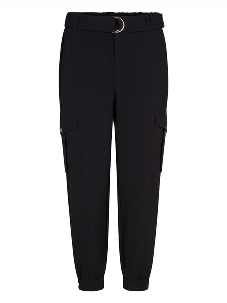 Carrie utility jogger-Black