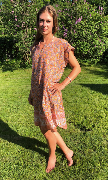 Dress pavia print fra Anouska