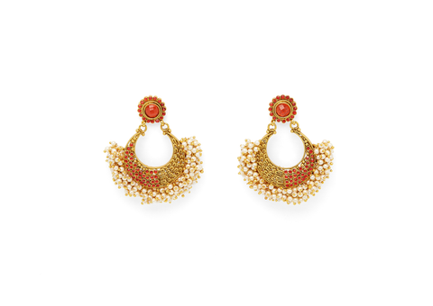 The Small Tanushri Earring fra Miss Mathiesen RED
