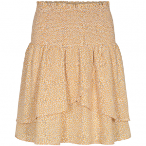 Medusa Flower Smock Skirt LEMON