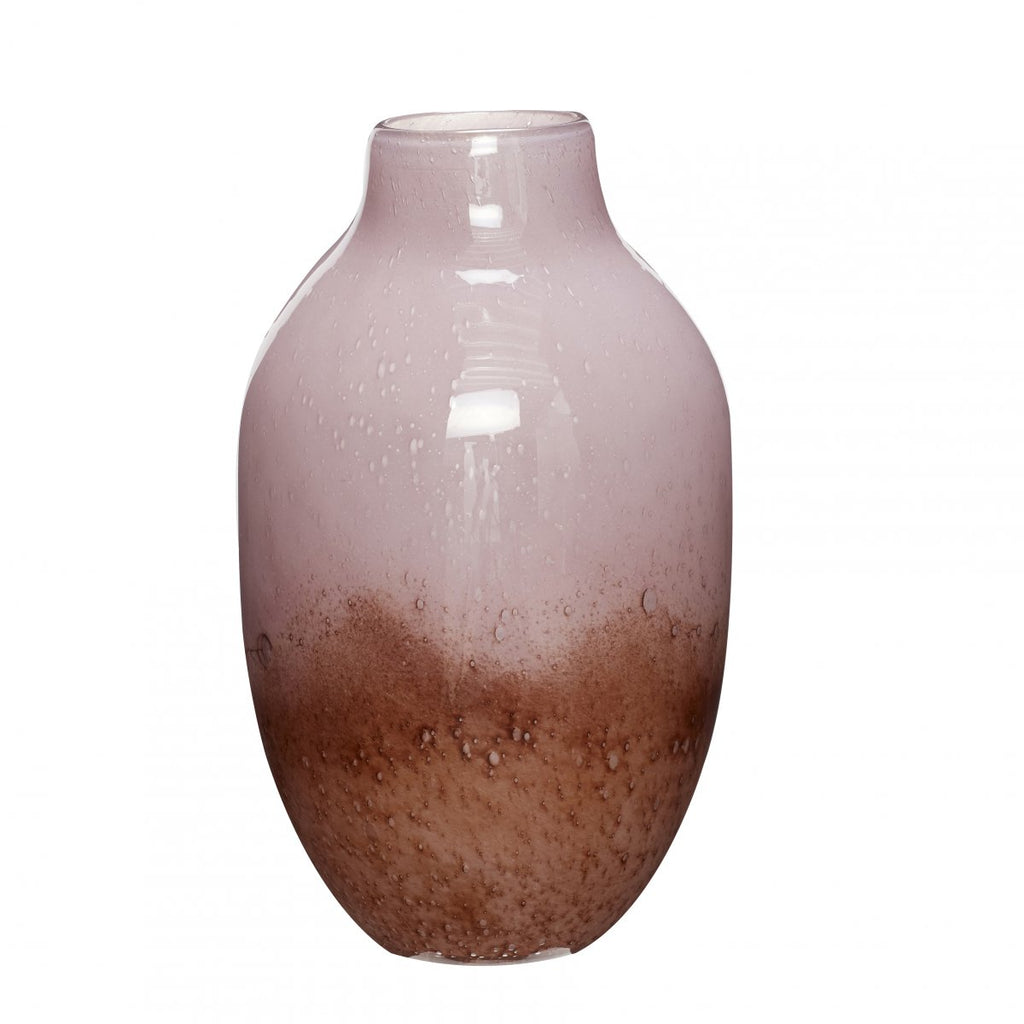 You'll Keep L00king Bubbled Glass Vase