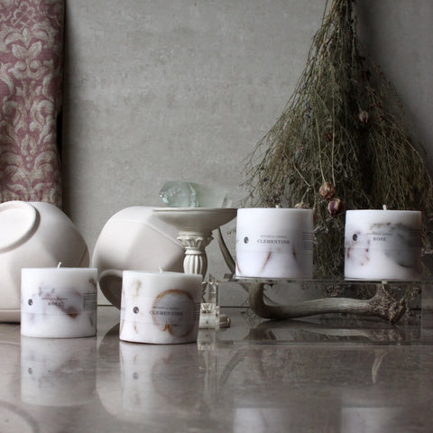 A FLORAL KOKORO EXCLUSIVE: HANDMADE DRIED FLOWERS CANDLES BY KAMINARI