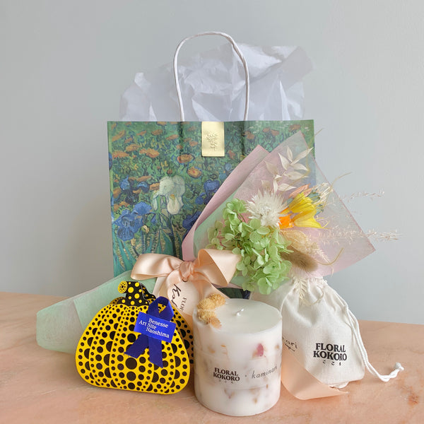 Thank You Mama Gift Set feat. Van Gogh, Yayoi Kusama, Naoshima (Free Delivery)