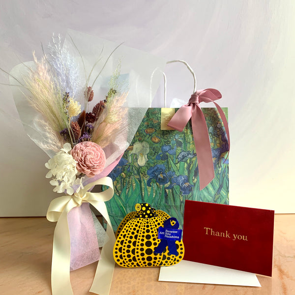 Keep Blooming Mama Gift Set feat. Van Gogh, Yayoi Kusama (Free Delivery)