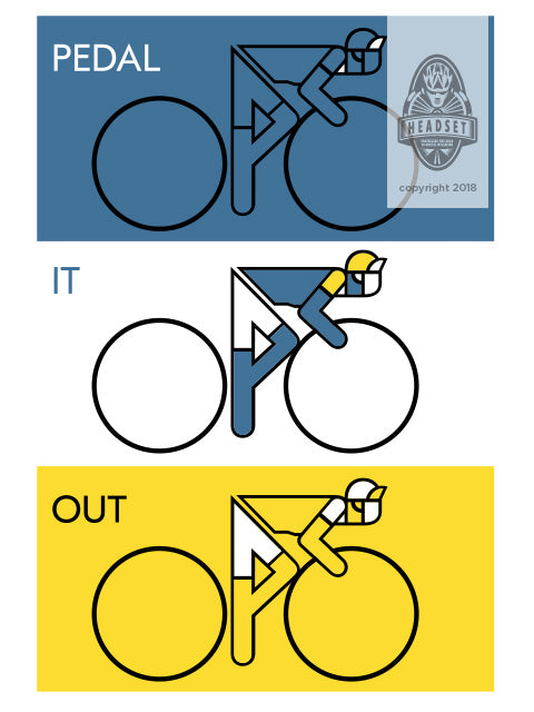 """Peddle it out"" by Alan Ainsley"