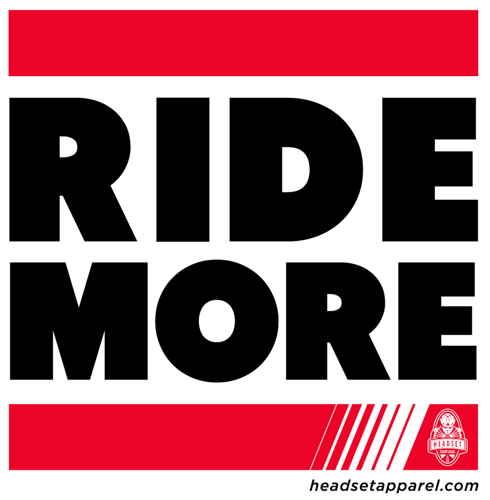 Ride More Stickers