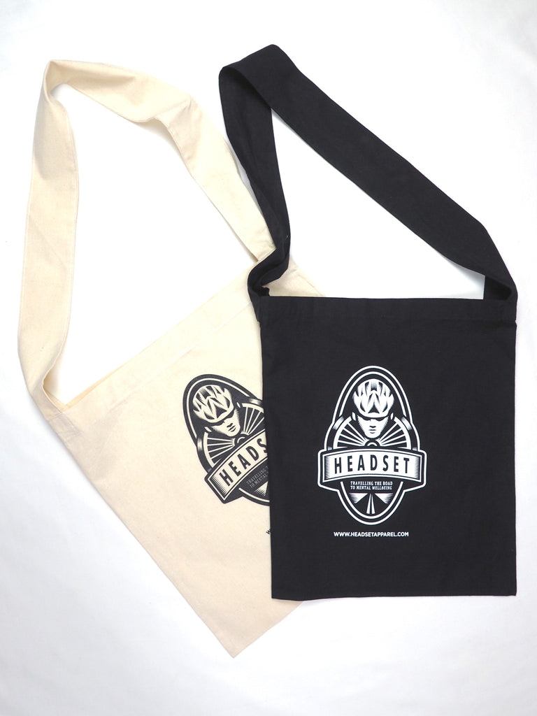 Headset logo Musette Bag Black