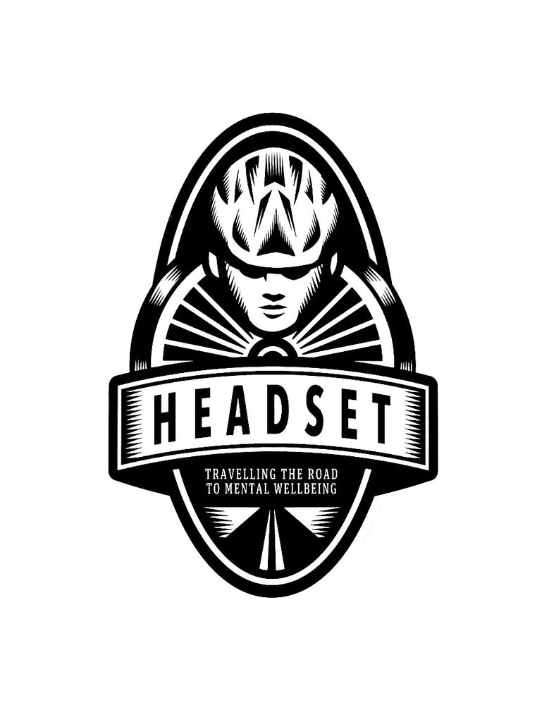 Headset Identity sticker