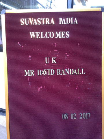 Suvastra India's greeting for me