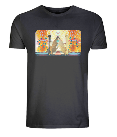 Classic Jersey Men's/Unisex T-Shirt - Psychedelic Rick