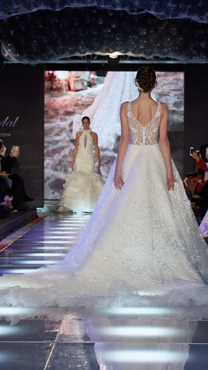 AFWLesly Unique Laced luxury wedding dress