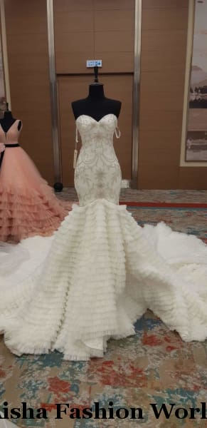 AFW Coral 2019 Wedding Dress - aishafashionworld