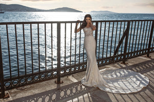 AFWIvory Mermaid  wedding dress