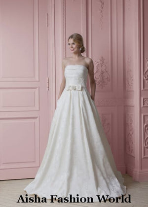 Rent stunning wedding dress - aishafashionworld
