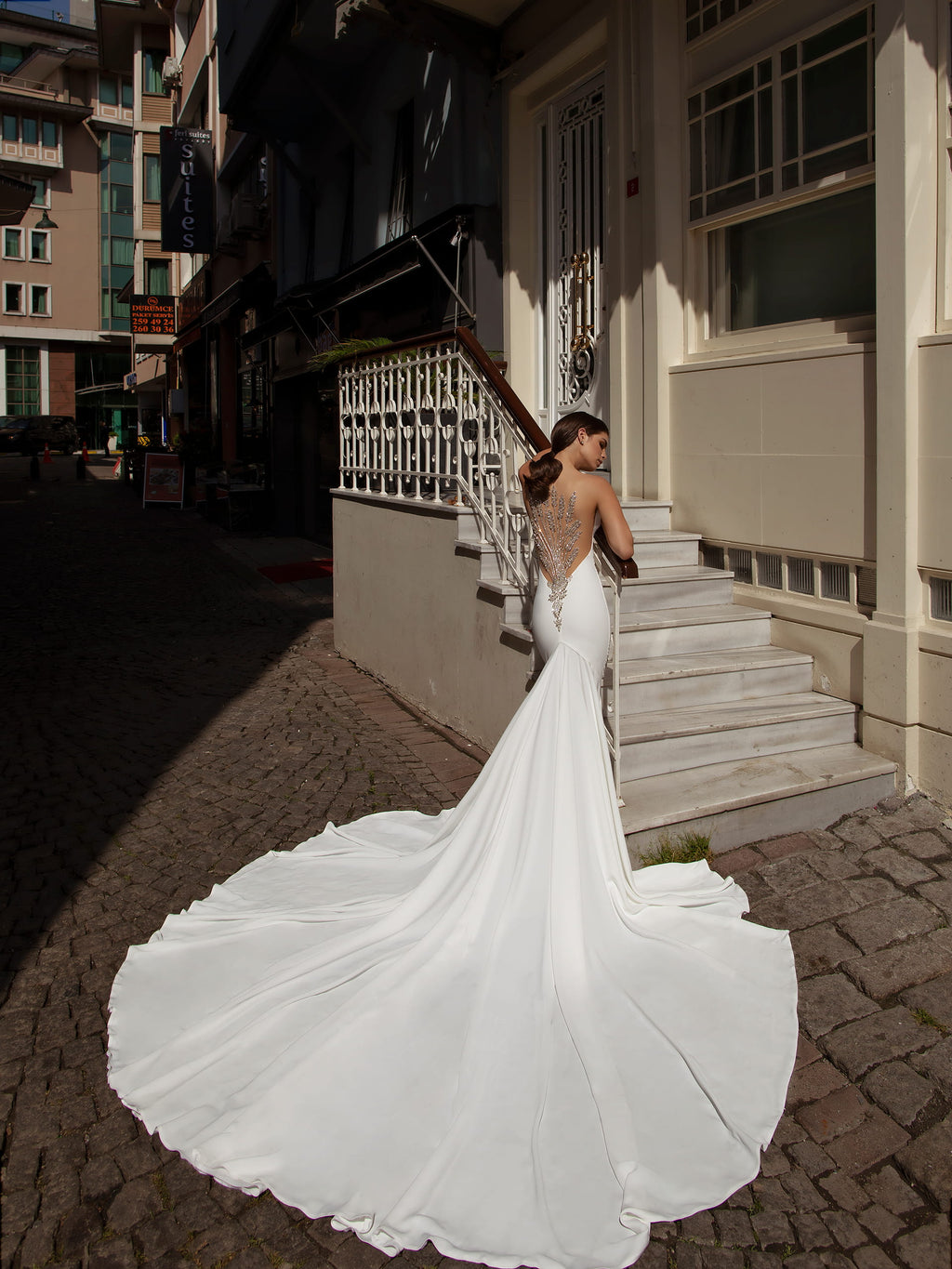 AFWStassy Showstopper Mermaid  wedding dress