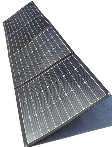 Mojave-220W foldable solar panel as one unit