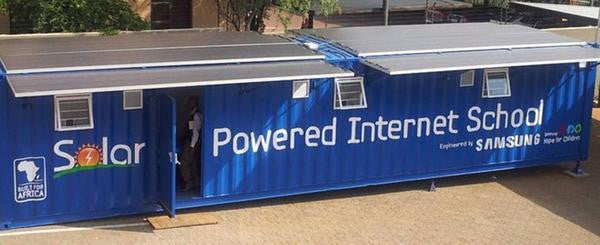 Samsung Africa launches solar-powered Internet schools