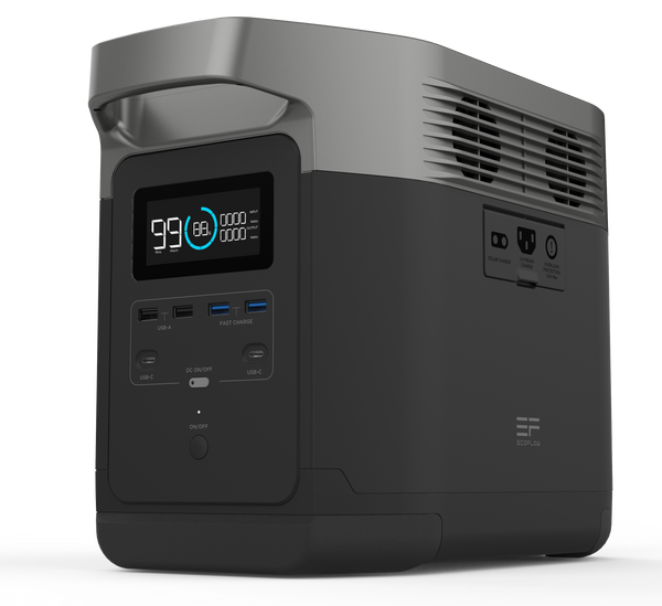 ECOFLOW DELTA 1300 - UPS PORTABLE POWER STATION - IN STOCK FROM 20. AUGUST, PRE-ORDER