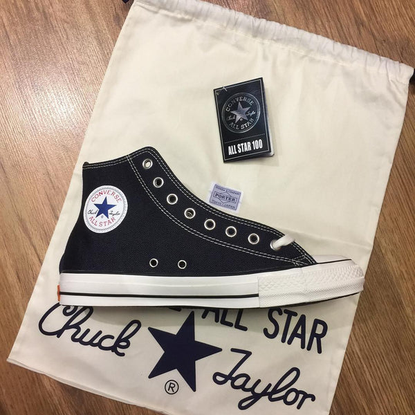 PRE ORDER - PORTER × CONVERSE ALL STAR 100 NAVY/WHITE