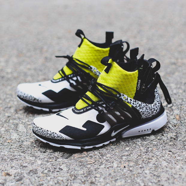 ACRONYM X NIKE AIR PRESTO MID DYNAMIC YELLOW