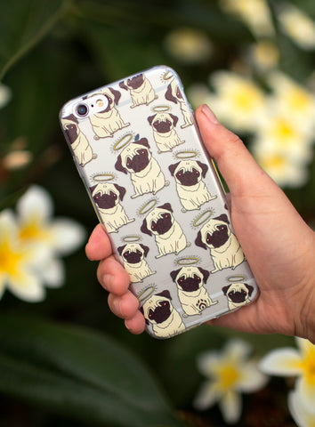 Pugglet Angels Phone Case