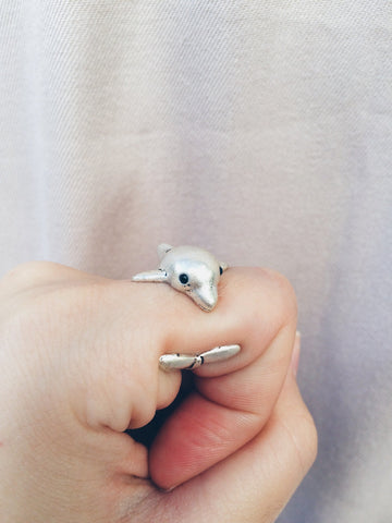 Dolphin Ring - Save Animals