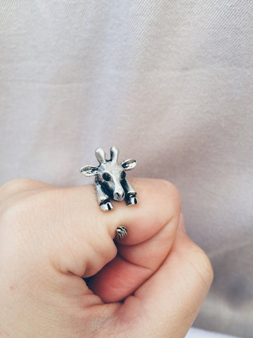 Giraffe Ring - Save Animals - 1