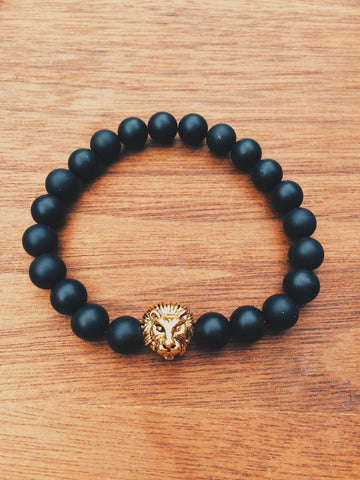 Matte Black Lion - Save Animals - 1