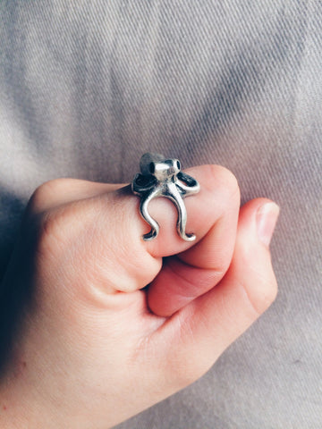 Octopus Ring - Save Animals