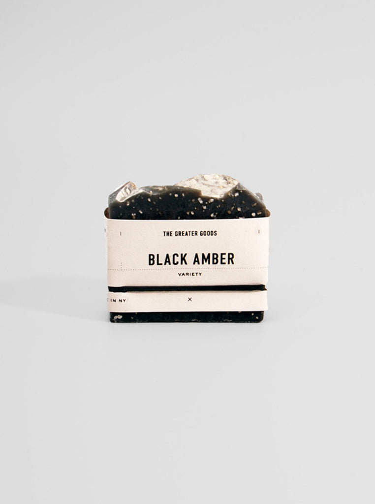 Black Amber Soap by The Greater Goods, The Greater Goods - Northernism