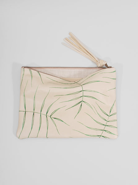 Leather Clutch Wild Fern, Jessica Kertis - Northernism